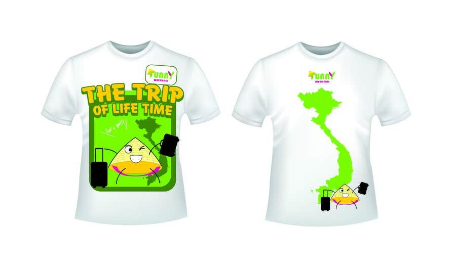 Zgłoszenie konkursowe o numerze #9 do konkursu o nazwie Thiết kế T-Shirt for Funny Weekend