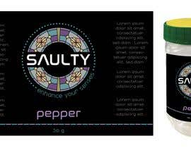 #76 for Come up with brand name + jar label + logo for a condiment/spices selling company by scarletbamboo50