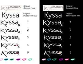 #53 for Design a Logo for Kyssa by xristopetkov