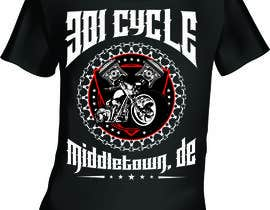 Nambari 19 ya Create a Kicka*s Radical Motorcycle T-Shirt Design na mj956