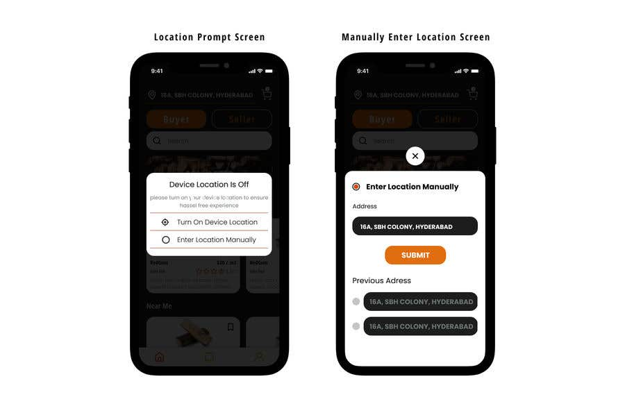 Contest Entry #                                        47                                      for                                         Design a Mobile App Screen Layout Plan