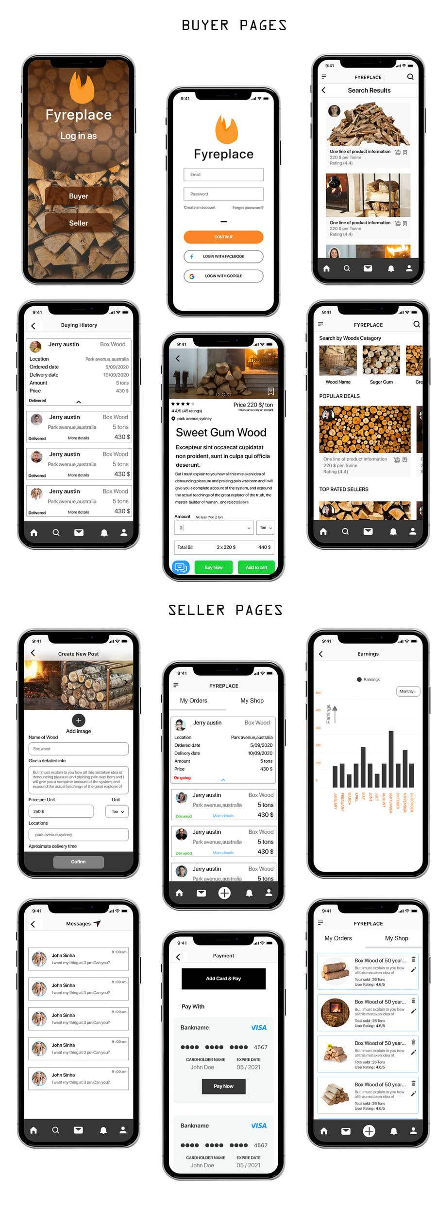 Contest Entry #                                        40                                      for                                         Design a Mobile App Screen Layout Plan