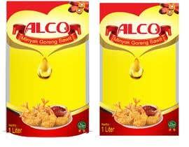 #75 untuk Desain packaging minyak goreng sawit merk ALCO oleh bahdhoe