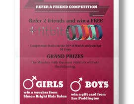 #4 pentru Design a Poster for our Refer a Friend Competition de către nihalmohamed6