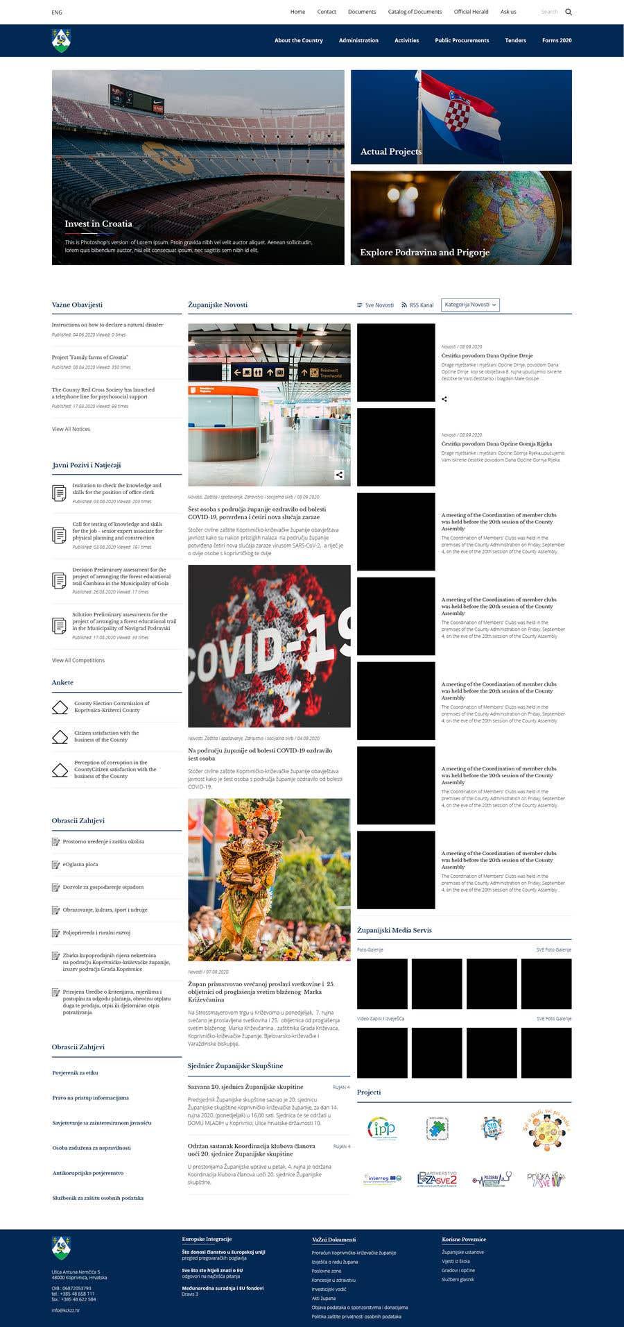 Penyertaan Peraduan #                                        37                                      untuk                                         Home page redesign project