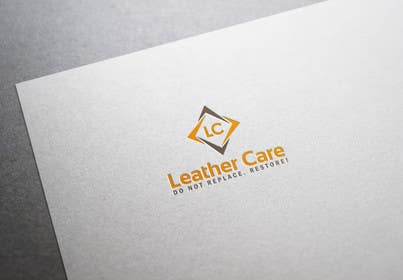#44 para Design a Logo for Leather Restoration Company de ydgdesign