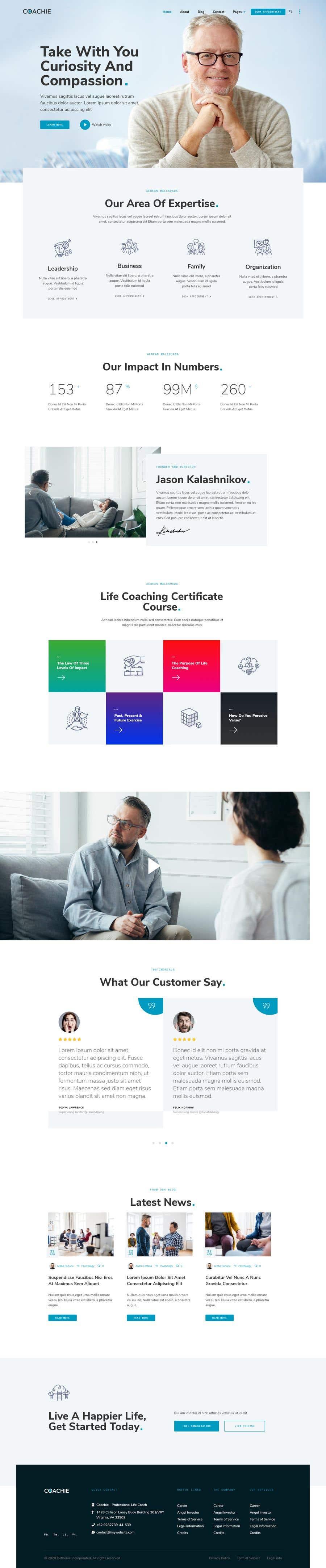 Penyertaan Peraduan #                                        15                                      untuk                                         design and build life coaching website