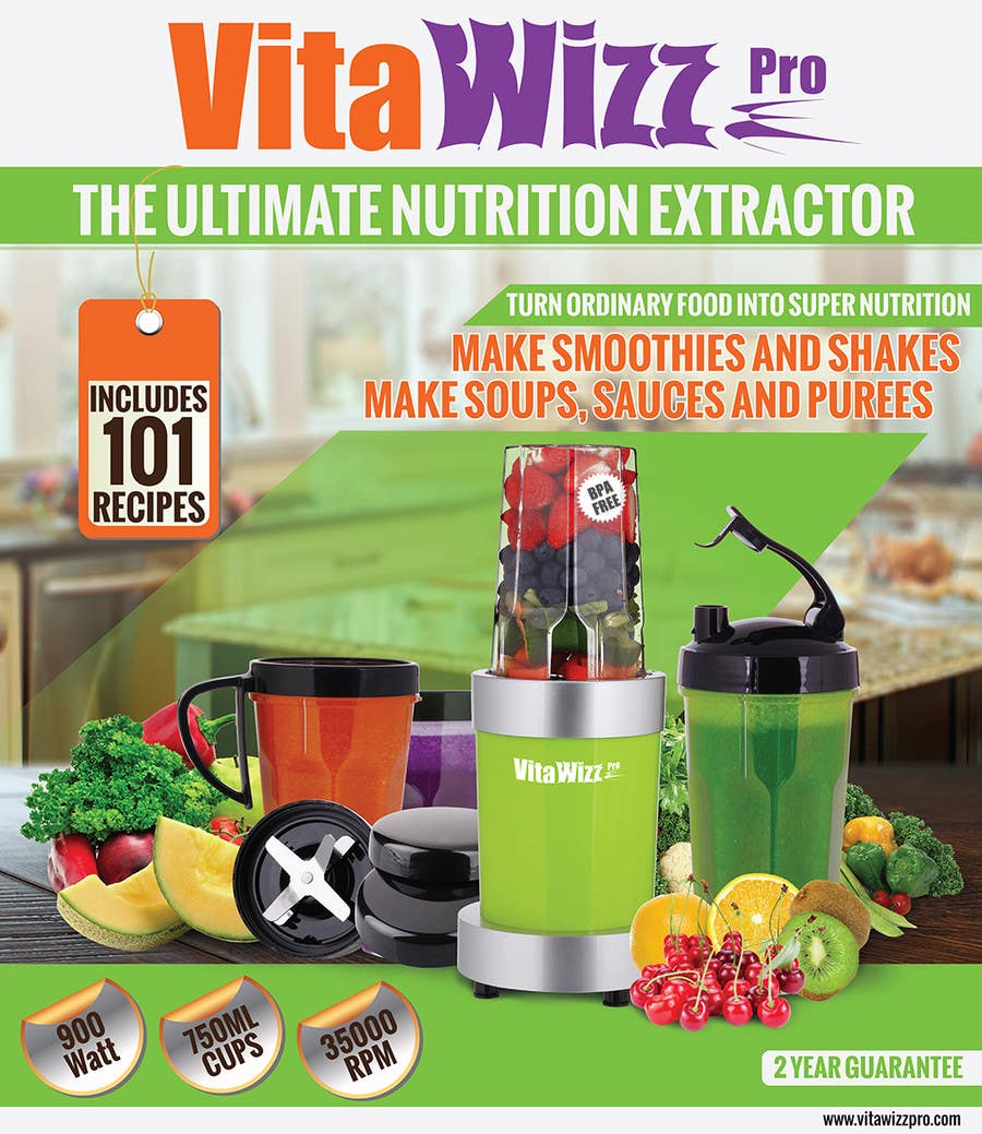 Konkurrenceindlæg #                                        4                                      for                                         VitaWizz Pro Box