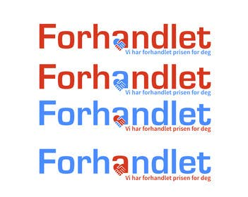#108 for Design logo for Forhandlet by sumontosohel