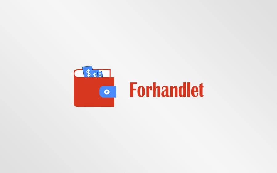 Inscrição nº                                         10                                      do Concurso para                                         Design logo for Forhandlet