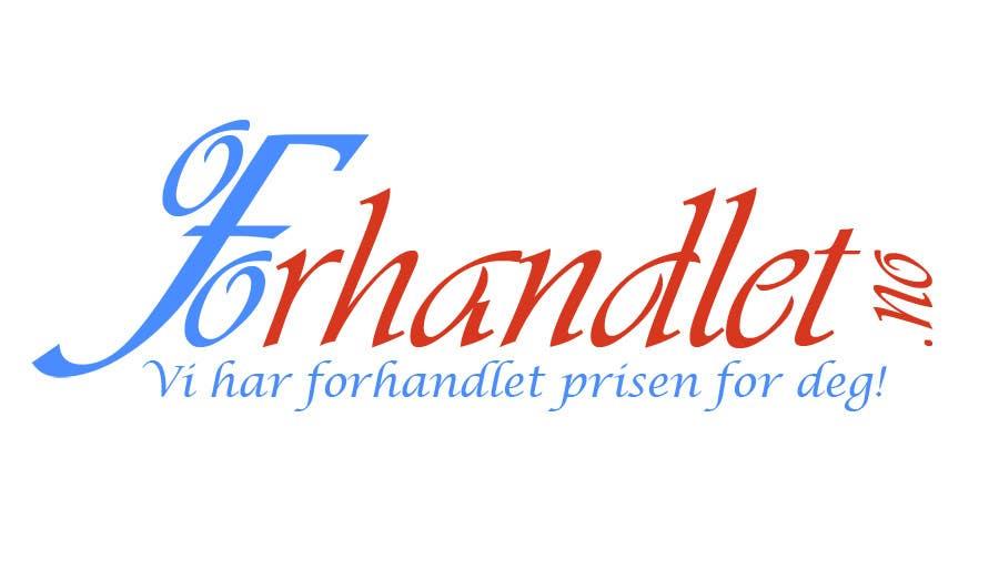 Inscrição nº                                         89                                      do Concurso para                                         Design logo for Forhandlet