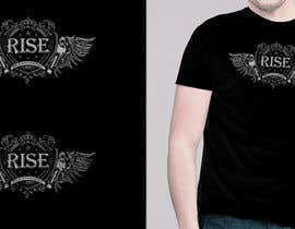 CoreyR tarafından T-shirt Design for RiSE (Ride in Style, Everyday) için no 94