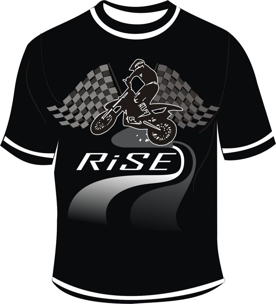 Entri Kontes #                                        67                                      untuk                                        T-shirt Design for RiSE (Ride in Style, Everyday)