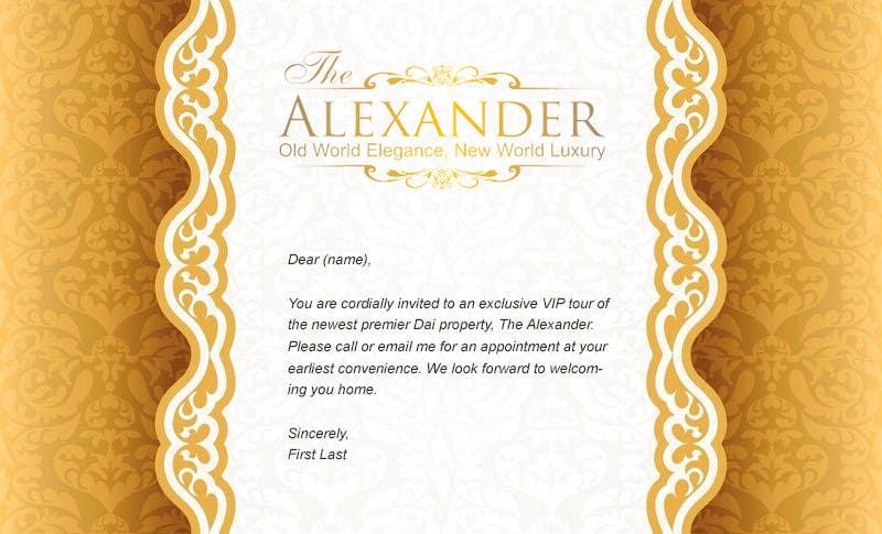 Inscrição nº                                         1                                      do Concurso para                                         Design an Email Template for an Invitation
