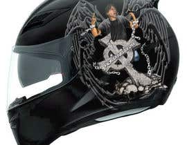 #43 untuk I need some Graphic Design for a Motorcycle Helmet oleh Martinnelmb