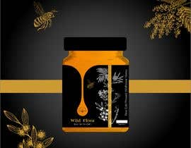 #580 untuk Design a Logo & Jar Label For a Honey Business oleh SALOMESEPHASHVIL