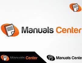 #152 for Logo Design for ManualsCenter (e-commerce site) af shivamsharmalko