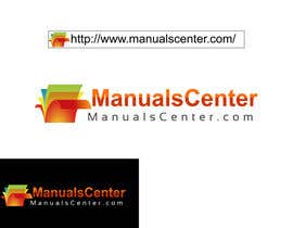 #190 para Logo Design for ManualsCenter (e-commerce site) por ArtBrain