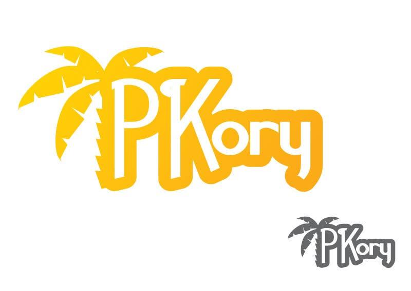 Inscrição nº                                         44                                      do Concurso para                                         Logo Design for PKory - Diseño de Logo para PKory