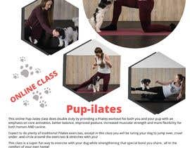 """#203 for Flyers for my dog training class """"Pup-ilates"""" by itsmonowar"""