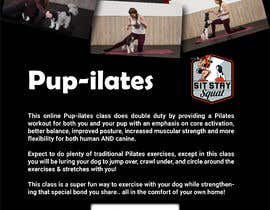 """#217 for Flyers for my dog training class """"Pup-ilates"""" by rifatamanna2011"""