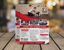 #249 untuk Flyer for my Canine Fitness Training Class oleh Hasan166817