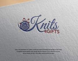 #147 untuk Re-Design of Knits4Gifts Logo 2020-2021 oleh engrnasim