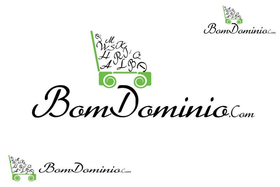 Bài tham dự cuộc thi #12 cho Logo Design for BomDominio.Com web  site.