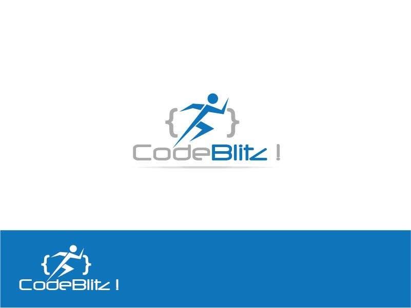 Penyertaan Peraduan #142 untuk Logo Design for 'CodeBlitz' software development innovation sprint
