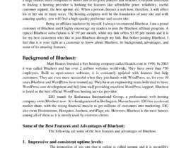 #18 para Blog on Bluehost de uzclover