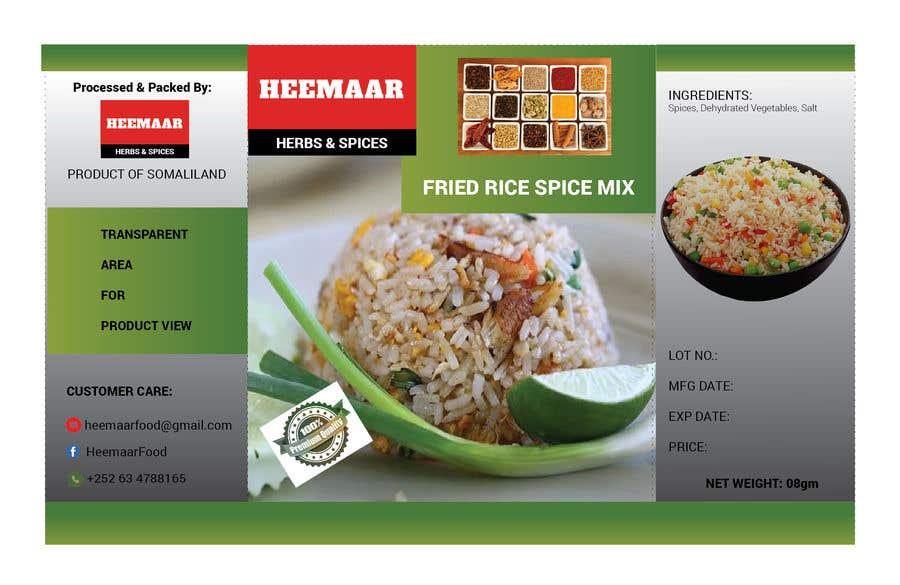 Inscrição nº                                         35                                      do Concurso para                                         Spice Pouch Packaging Design