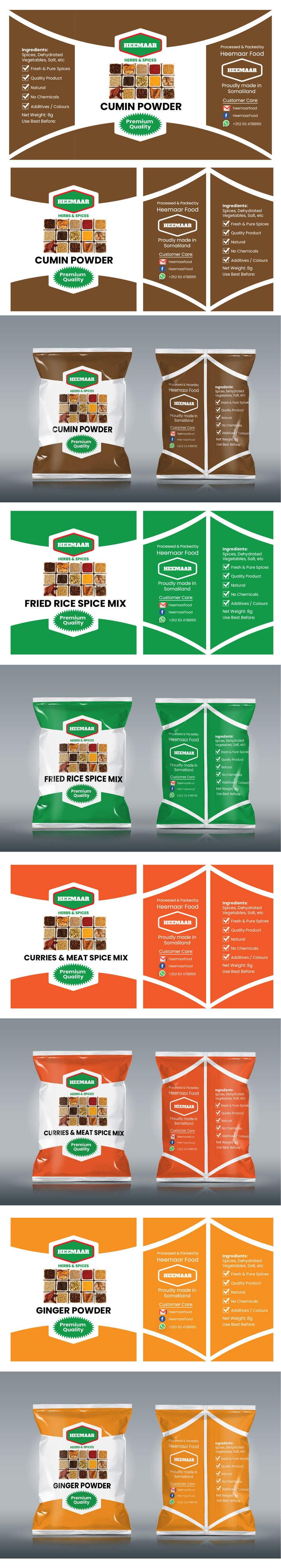 Inscrição nº                                         40                                      do Concurso para                                         Spice Pouch Packaging Design