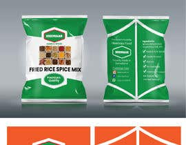 #40 para Spice Pouch Packaging Design por ansardeo
