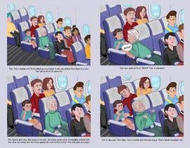 Nro 48 kilpailuun Draw double page for children book with four illustrations and text beneath käyttäjältä kikiam265