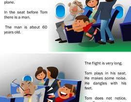 Nro 41 kilpailuun Draw double page for children book with four illustrations and text beneath käyttäjältä Nileshkrlayek