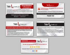 Nro 11 kilpailuun Need (5) individual flyers / graphics made for automatic emails sent to credit repair clients käyttäjältä alakram420