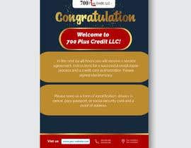Nro 12 kilpailuun Need (5) individual flyers / graphics made for automatic emails sent to credit repair clients käyttäjältä tazulislam1673