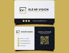 #49 untuk Business card design for marketing company oleh ratulder