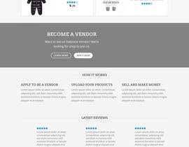 #8 para Build me a website to SELL baby clothing por eleas34