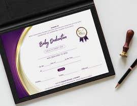 #6 para Baby Dedication Certificate por studiozeed