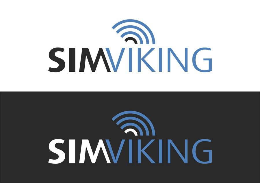 Inscrição nº                                         13                                      do Concurso para                                         Logo Design for SIMVIKING ApS