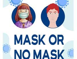 #51 untuk Sticker for optional masks oleh Hshakil320