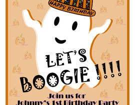 Nro 74 kilpailuun Quick Invitation Design, Halloween Birthday käyttäjältä PranjaliP23