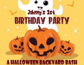 Nro 86 kilpailuun Quick Invitation Design, Halloween Birthday käyttäjältä Juani84