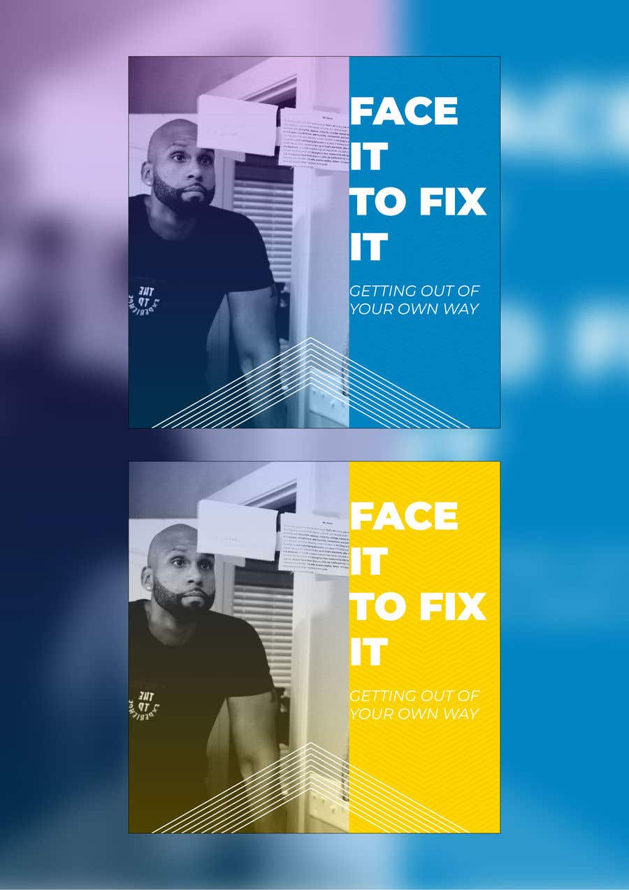 """Contest Entry #                                        79                                      for                                         Podcast design - """"Face it to Fix it"""" show"""
