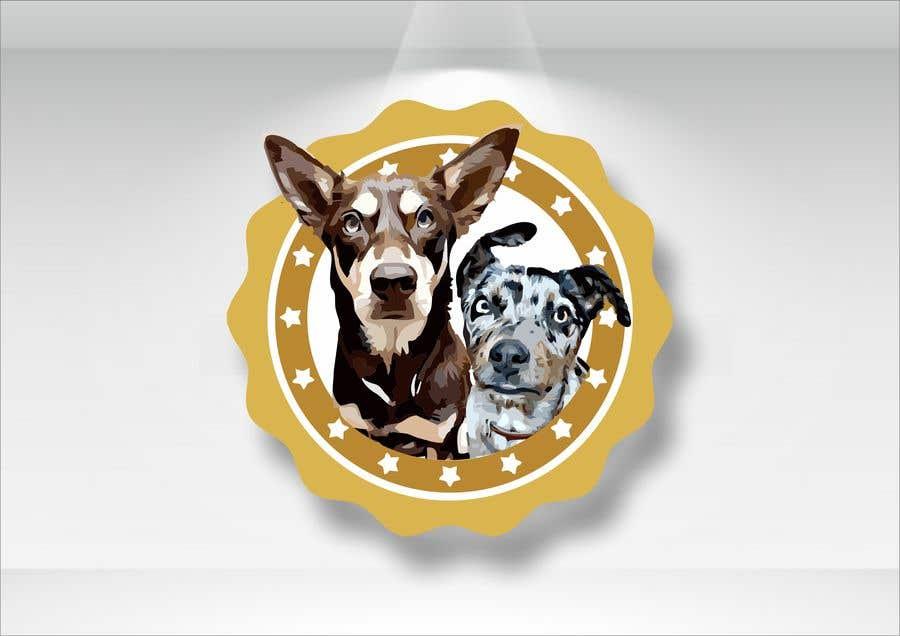 Kilpailutyö #                                        28                                      kilpailussa                                         CARTOON DESIGN LOGO OF DOGS