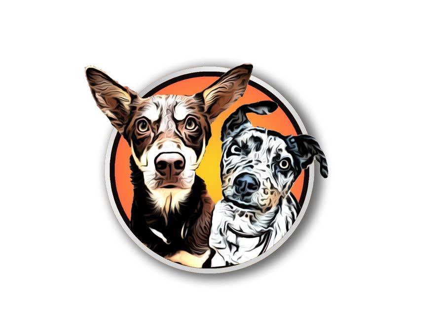 Kilpailutyö #                                        32                                      kilpailussa                                         CARTOON DESIGN LOGO OF DOGS