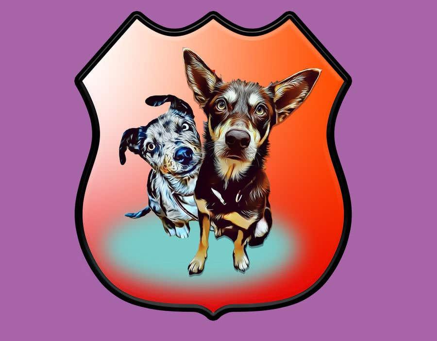 Kilpailutyö #                                        59                                      kilpailussa                                         CARTOON DESIGN LOGO OF DOGS