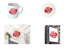 Nro 91 kilpailuun Branding mockups for Pizza company käyttäjältä sofijs5