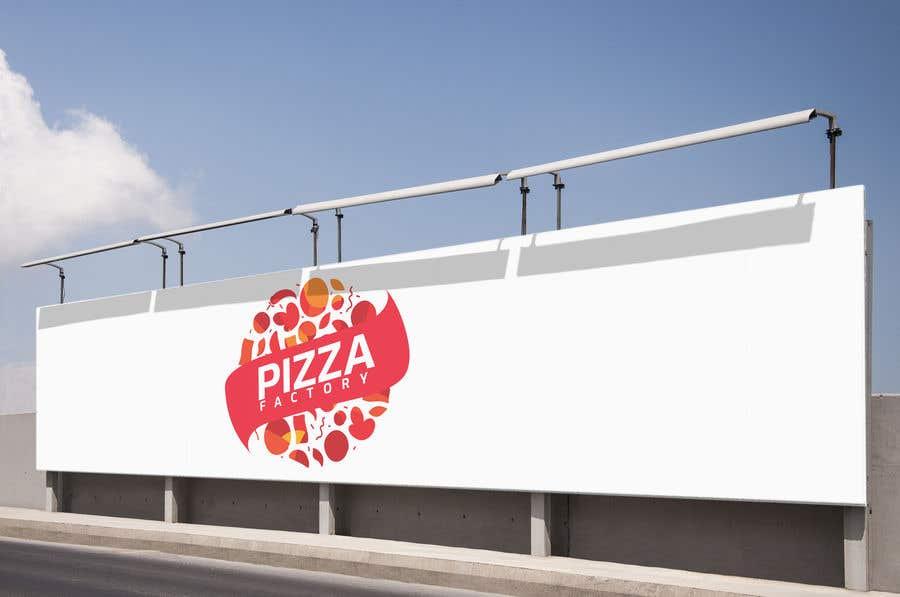 Kilpailutyö #                                        87                                      kilpailussa                                         Branding mockups for Pizza company